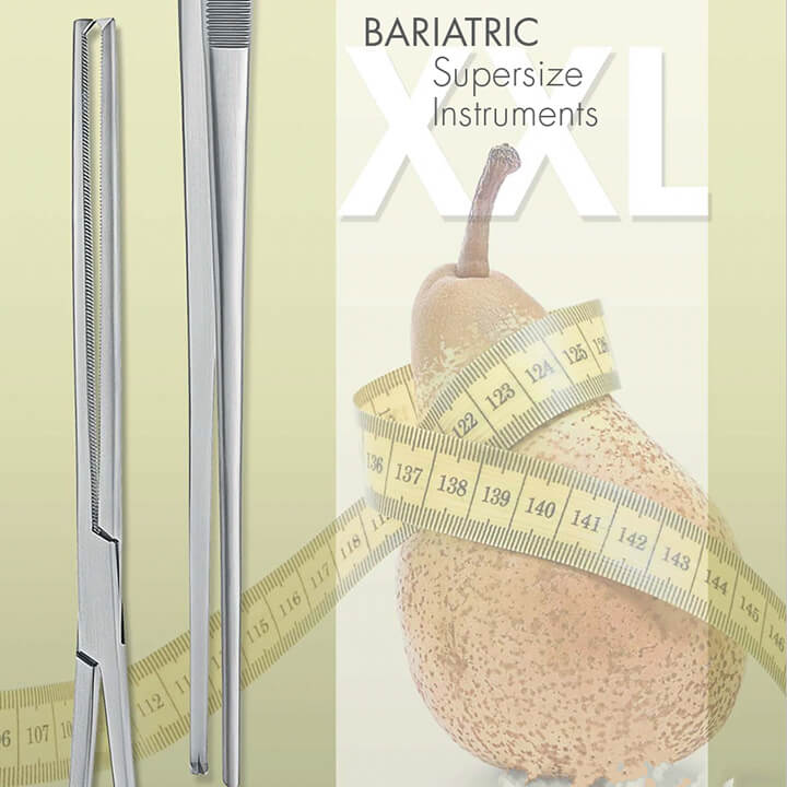 Bariatric supersize instruments - Alphameditec