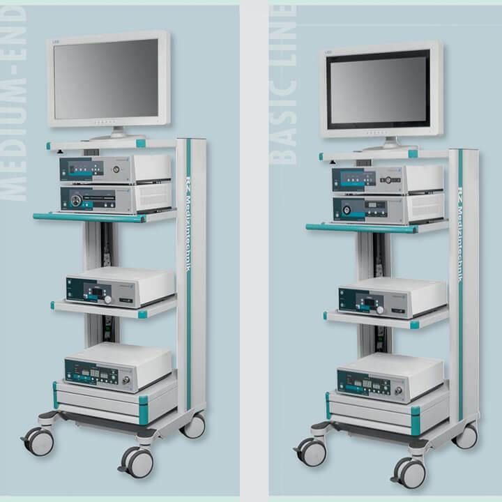 Endoscopic towers - Alphameditec