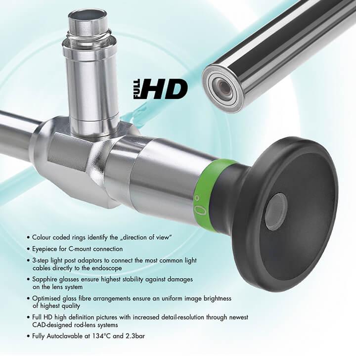 Endoscopy equipment 1 - Alphameditec