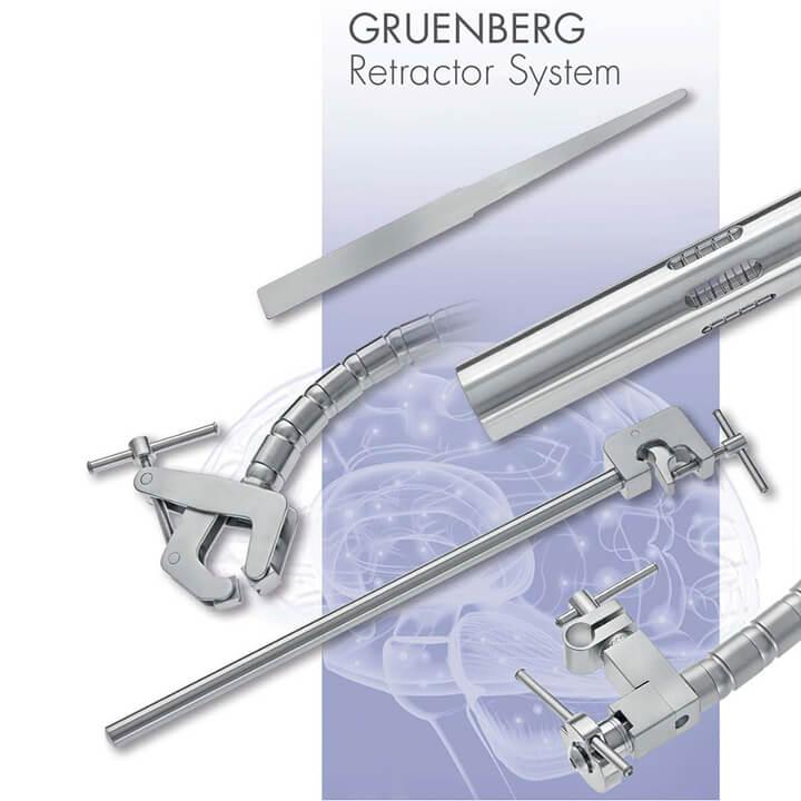 Gruenberg retractor system - Alphameditec