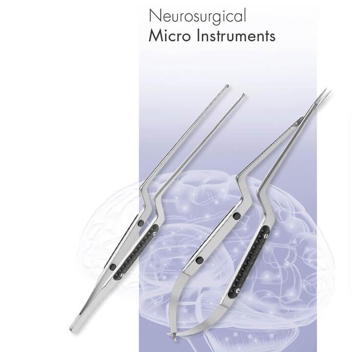 Neurosurgical micro instruments - Alphameditec