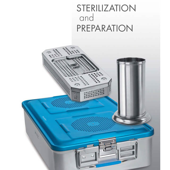 Sterilization and preparation - Alphameditec